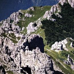 Cade in Grignetta per 20 metri   Alpinista ferito ma se la caverà