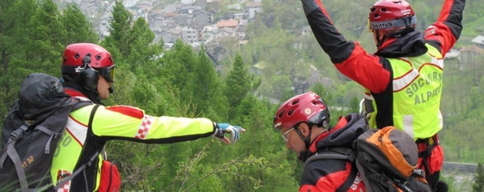 Escursionisti soccorsi in Valmasino: due interventi