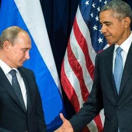 Faccia a faccia Obama-Putin  «L'Isis è il volto del male»