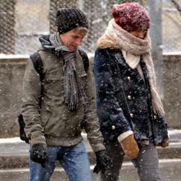 Giù la colonnina, arriva l'inverno  Nel fine settimana freddo polare