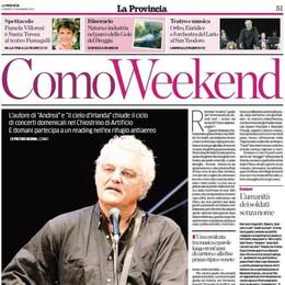 Massimo Bubola a Como Protagonista del weekend
