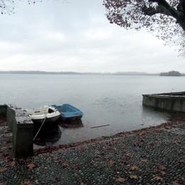 Pusiano, il lago visto dal fondale