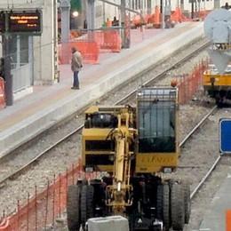 Stazione di Erba, il cantiere è in ritardo  «C'è Expo, tutto finito entro aprile»