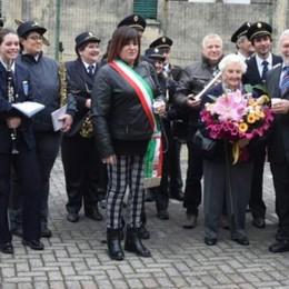 Campane a festa a Dorio  per i cent'anni di Vittorina