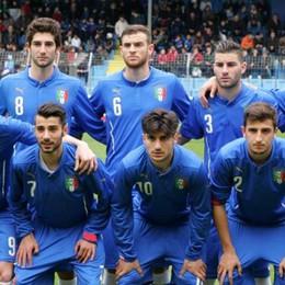 Una festa tricolore a Lecco  L'Italia Under 20 ne fa tre