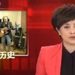 """Il rock dei """"7grani"""" alla tv cinese di Stato"""