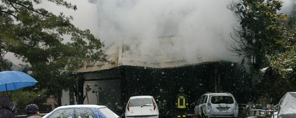 Una condanna   per l'incendio mortale
