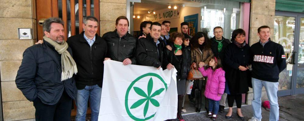 Lecco, Lega inaugura   la sede elettorale in centro