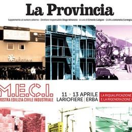 Meci: l'edilizia sfida la crisi  Un inserto con La Provincia
