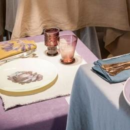 Society, marchio della Limonta  In tavola l'eccellenza tessile