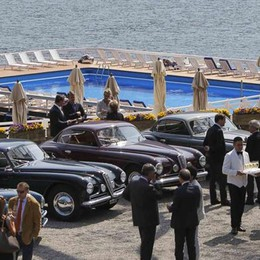 L'eleganza dell'Alfa  targata Villa d'Este  Il raduno vip sul lago