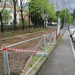 Verde via De Gasperi   Il sindaco: «Resterà»   Tanti non ci credono