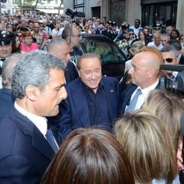 Silvio ai lecchesi: «Uniamo le forze dei moderati»