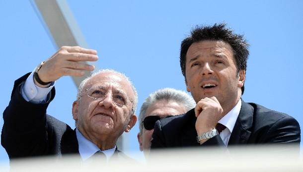 Renzi, la camorra si combatte con lavoro - Europa, Salerno
