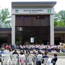 Oasi di Baggero, centro parco inaugurato