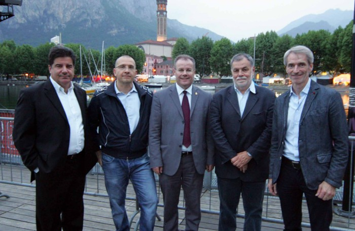 I cinque candidati alla carica di sindaco di Lecco