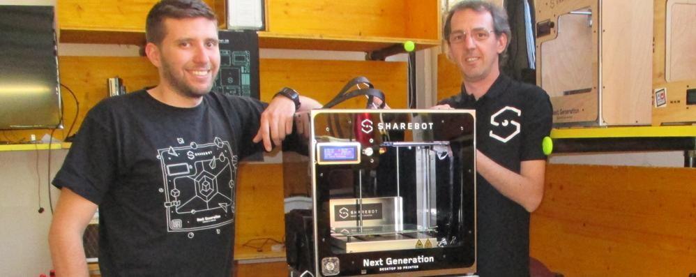 Le stampanti 3D di Sharebot  in vendita nei supermercati