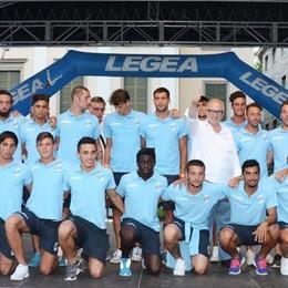 Il Calcio Lecco si presenta ai tifosi   Un vero e proprio show in centro città