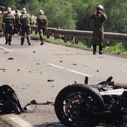 Valbrona muore in moto   durante un giro in Tirolo