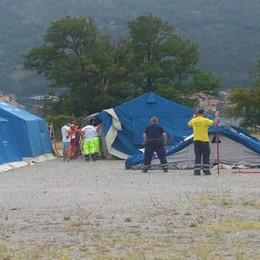 Campo profughi da 70 posti  Oggi previsti i primi arrivi
