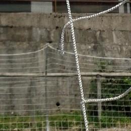 Vandalismi a Torre de' Busi  Danni al campo di calcetto