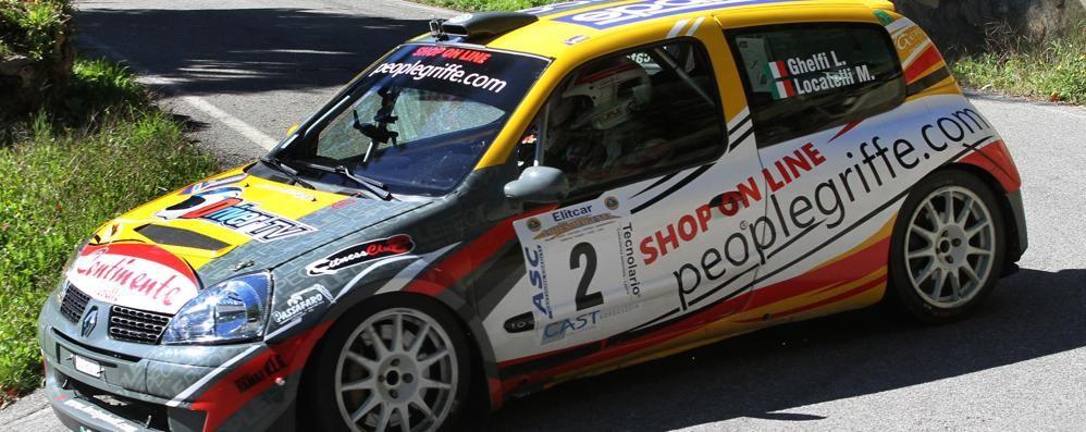 Ghelfi, bella sorpresa  Suo il Rally Day Valsassina