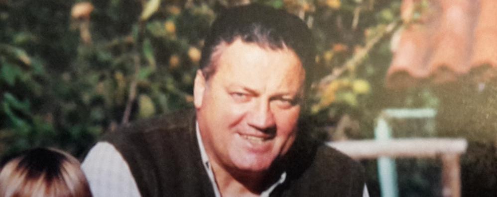 Morto Lorenzo Cariboni  Colico e volontari in lutto