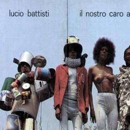"""""""Il caro angelo"""" di Battisti  La copertina made in Cantù"""