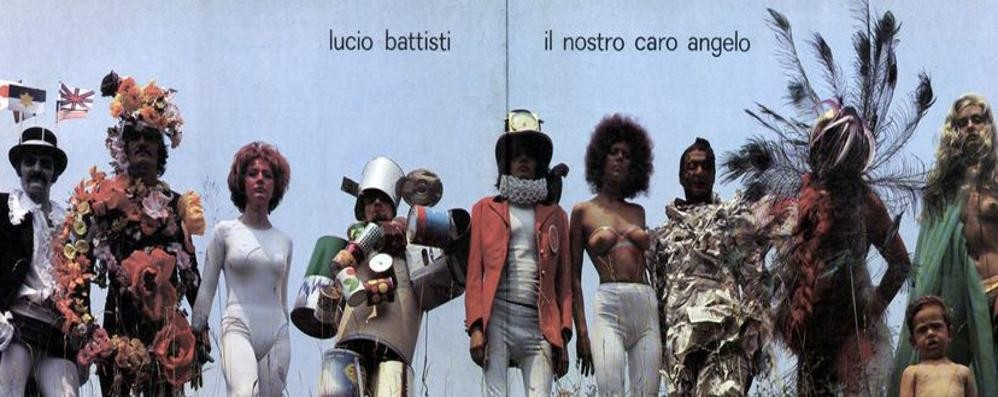 """Il caro angelo"" di Battisti  La copertina made in Cantù"