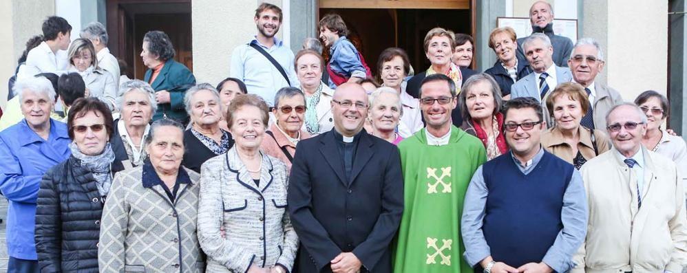 L'abbraccio della Valmalenco   ai tre nuovi sacerdoti