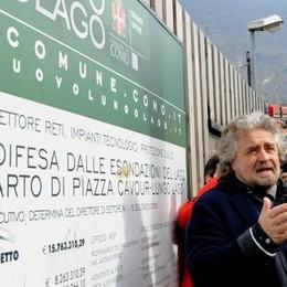 Paratie, Grillo contro Lucini  «Scandalo, elezioni subito»