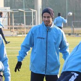 Lecco, la gioia del brasiliano Bodini  «Non vedevo l'ora di poter giocare»