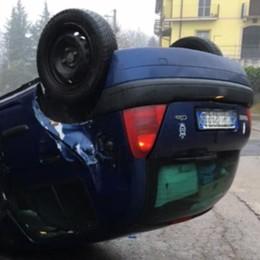Incidenti a Missaglia, Calco e Brivio. A Maresso un'auto ribaltata