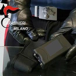 Rapina con il taser al market  Arrestato dai carabinieri