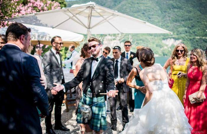 Un matrimonio scozzese a Villa Regina Teodolinda