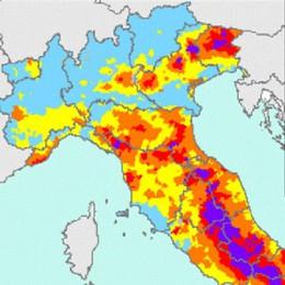 Lecco: la mappa sismica dei Comuni  Basso il rischio di terremoti