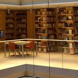 La biblioteca di Trento  costruita dalla Colombo