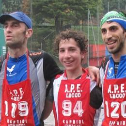 Maggianico-Camposecco e ritorno  Ventata di gioventù con Andrea Rota