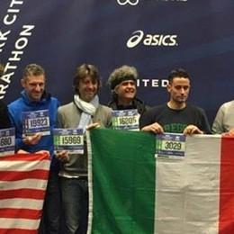 Maratona di New York  Il traguardo per i sette  della famiglia Cappoli