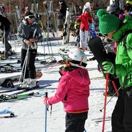 Valle Spluga: sulle piste 2400 sciatori