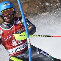 Coppa Europa, fantastico Sala  È terzo sul podio nello slalom
