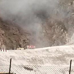 Cantiere per la galleria Paniga: nuovi orari per le esplosioni