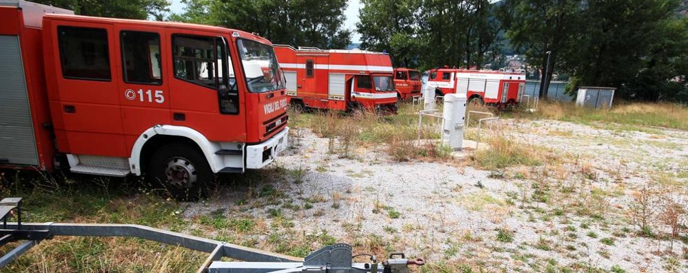 Il Comune cede sulla caserma  Vigili del fuoco nell'area giostre