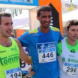 Maratonina di Lecco a Mokraji   Nella scia Raineri e poi Molteni
