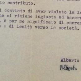 Obiezione di coscienza  Gli otto mesi di galera  di Alberto Anghileri