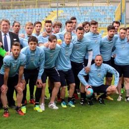 Calcio Lecco, França portavoce  «Vogliamo onorare questa maglia»