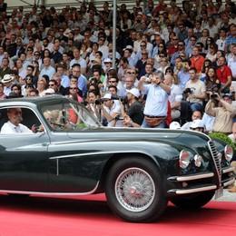 A Villa D'Este le Ferrari  di Mastroianni e Steve McQueen
