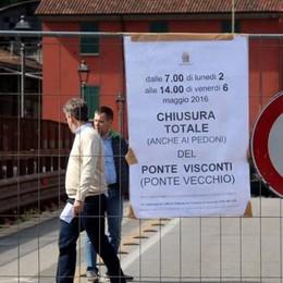 Ponte Vecchio chiuso per lavori