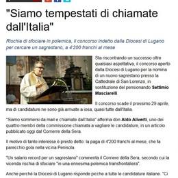 Sacrestano a 3800 euro  Il parroco chiude il bando  e va in silenzio stampa
