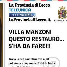 Mail per Villa Manzoni  Oggi ultimo giorno  per scrivere a Renzi